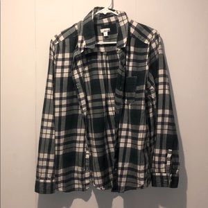 Abound women's plaid button up. Size XL